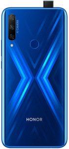Honor 9X Bleu dos