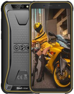 Blackview BV5500 Plus Jaune
